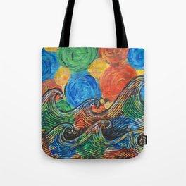 Waves in my Dreams Tote Bag