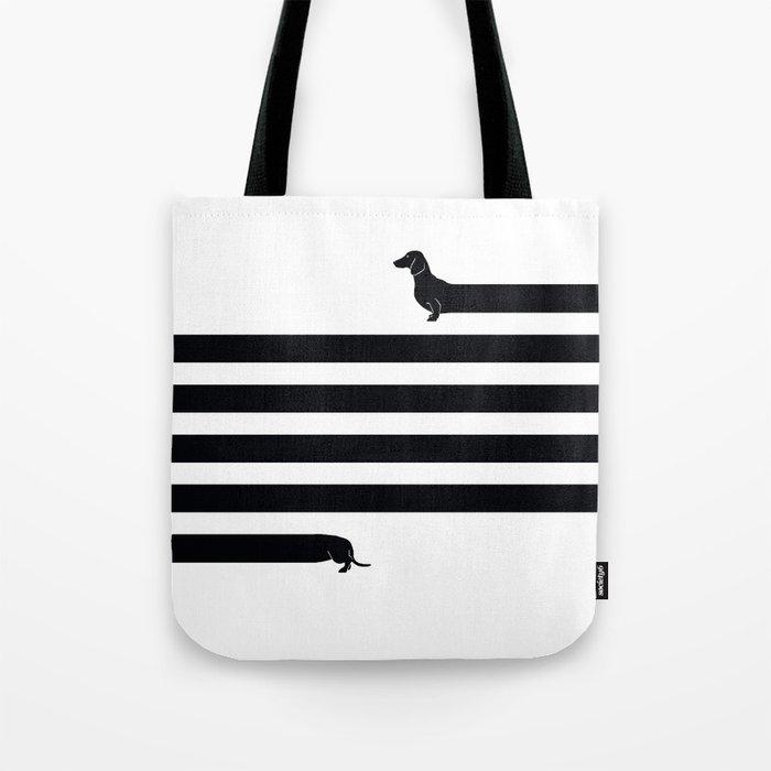 (Very) Long Dog Tote Bag