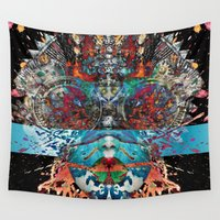 ganesha Wall Tapestries featuring Ganesha by GeSpot