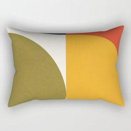 Attached Abstraction 10 Rectangular Pillow