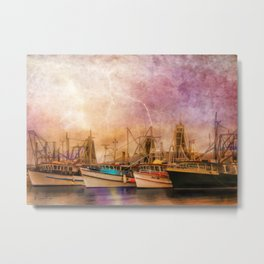 Any Port In A Storm Metal Print
