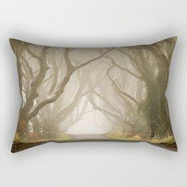The Dark Hedges 1 Rectangular Pillow
