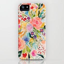 Flower Joy iPhone Case