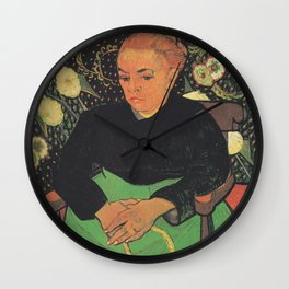 Madame Roulin Rocking the Cradle Wall Clock