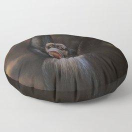THE MISSING 2 PERCENT Floor Pillow