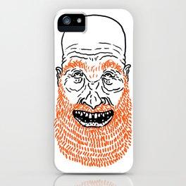 beardy iPhone Case