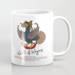 Eagle puppet characters in the story of Ramayana Coffee Mug