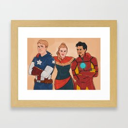 Let Them Be Friends  Framed Art Print