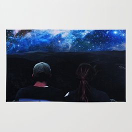 You and I and Our Universe Rug
