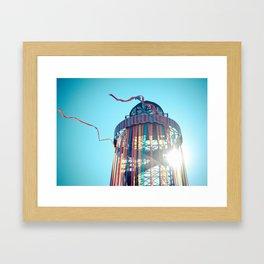 Ribbon Tower Framed Art Print