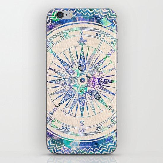 Follow Your Own Path iPhone & iPod Skin