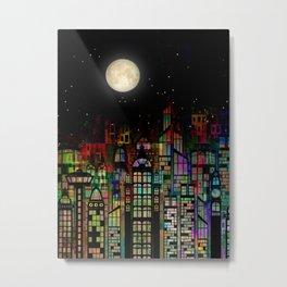 Fairytale City Metal Print