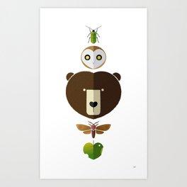 Wild at Heart Art Print