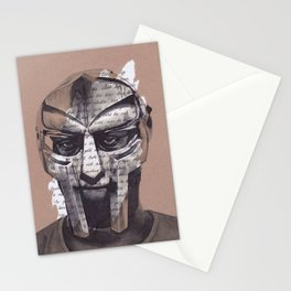 MF DOOM Portrait Stationery Cards