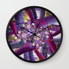 Audrey's Posies Wall Clock