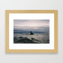 Ocean Surf IIII Framed Art Print
