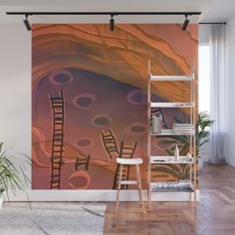 Ancestral Memories, Caves Wall Mural