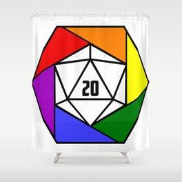 D20 Artisan Shower Curtain