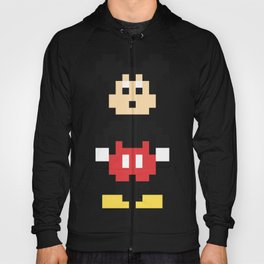 Mickey Mouse Pixel Character Hoody