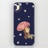 hetalia iPhone & iPod Skins featuring Americhute by gohe1090