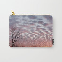 Winter sunset panorama - Hoyt Park, Madison, WI Carry-All Pouch