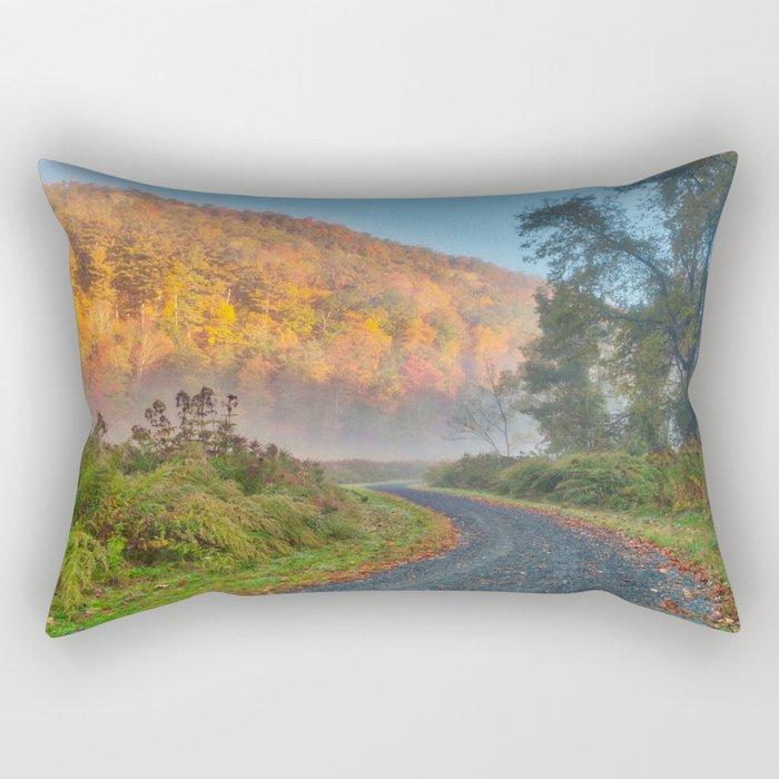 Misty Autumn McDade Trail Rectangular Pillow