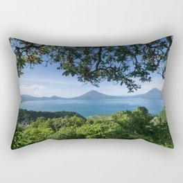 Mirador al Lago de Atitlán, Sololá. Rectangular Pillow