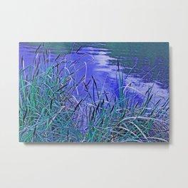 In the reeds Metal Print