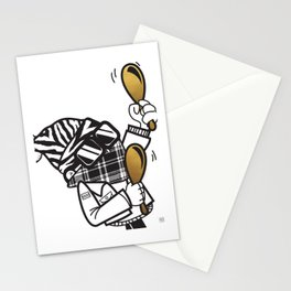 Band-itz Series: Maracas (3 of 3) Stationery Cards