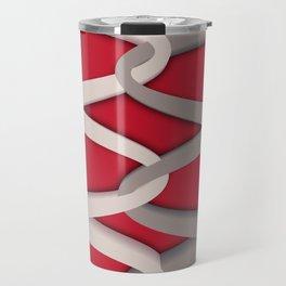 Symmetry: Shoelaces Travel Mug
