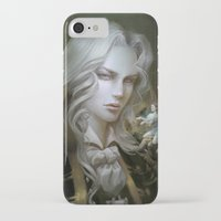 castlevania iPhone & iPod Cases featuring Alucard. Castlevania Symphony of the Night by Nell Fallcard