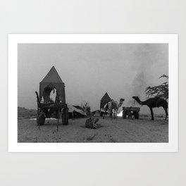 The Pushkar Festival Art Print