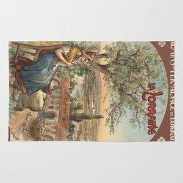 Vintage poster - France Rug