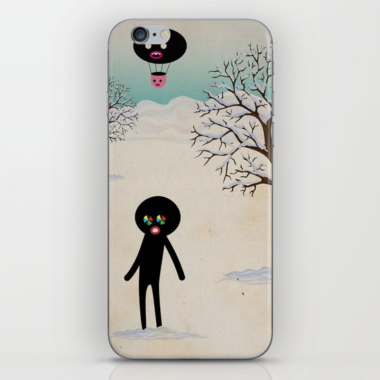 b r r r iPhone & iPod Skin