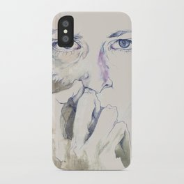 retrato iPhone Case