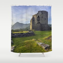 Dolbadarn Castle Shower Curtain