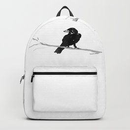 Raven in a Tree Backpack