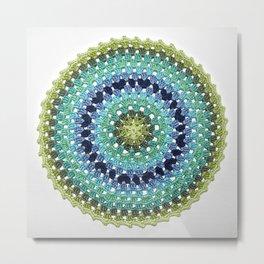 Mandala - Wast Wealth Metal Print