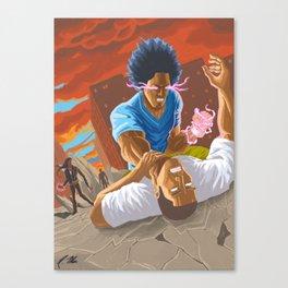 A God's Wrath (Finish Him!) Canvas Print