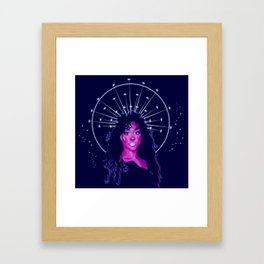 SZA High Priestess Framed Art Print