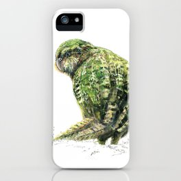 Mr Kākāpō iPhone Case
