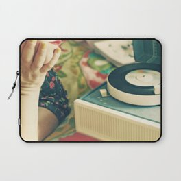 For The Love of Vinyl  Laptop Sleeve