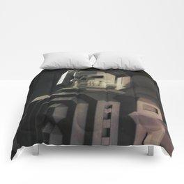 Necronaut low-polygon 3D artwork Comforters