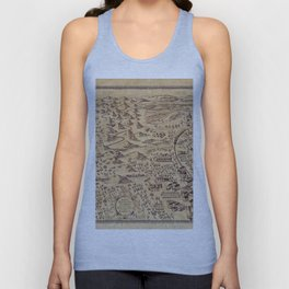 Marauder's Map (complete) Unisex Tank Top