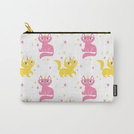 Magical Unicats! (Alternative Colorway) Carry-All Pouch