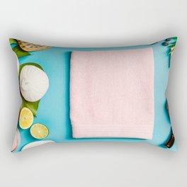 spa settings Rectangular Pillow