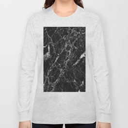 Black Marble 2 Long Sleeve T-shirt