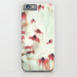 Dreamy Floral Abstract Art iPhone Case