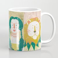 oz Mugs featuring Oz by StinkyInky_Jess