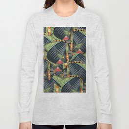 Crowd Fish 3 Long Sleeve T-shirt